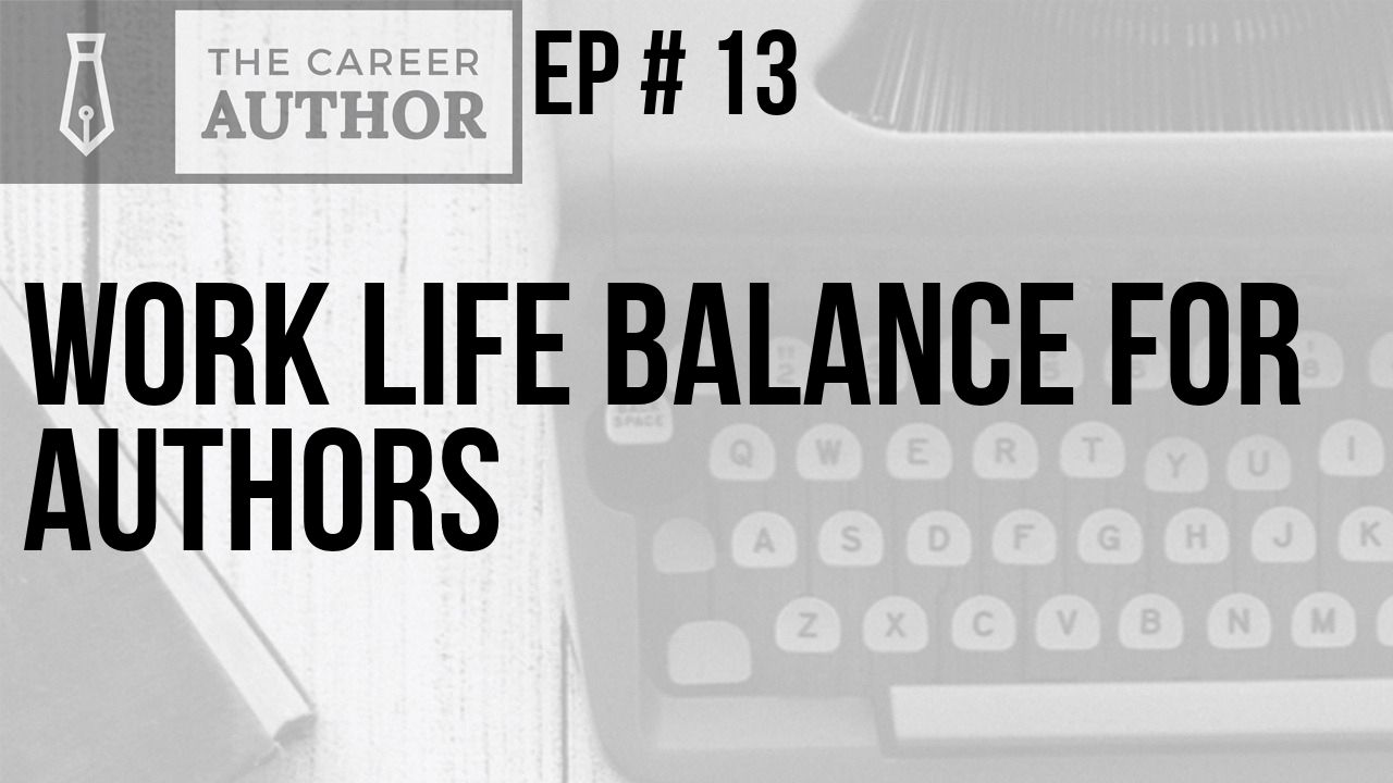 Work life balance for authors