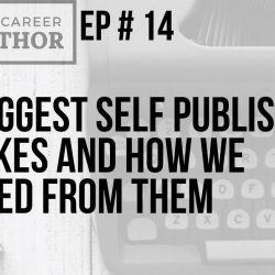 Self publishing mistakes