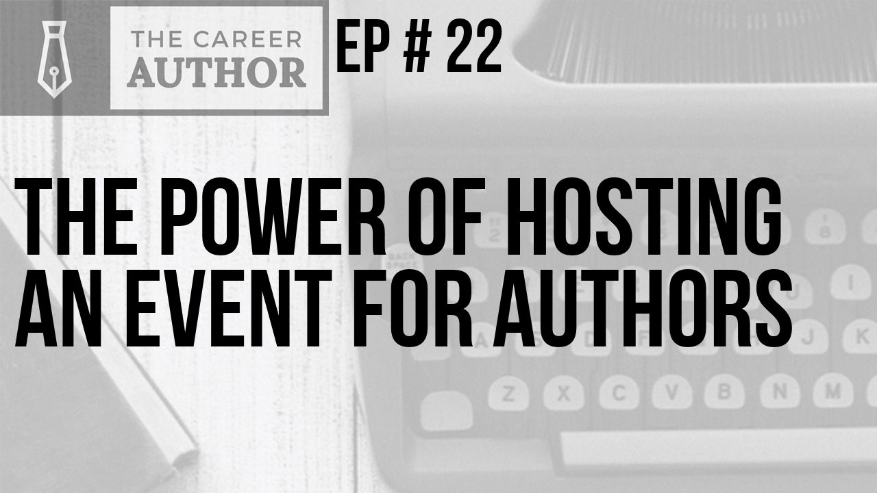 Hosting an event for authors