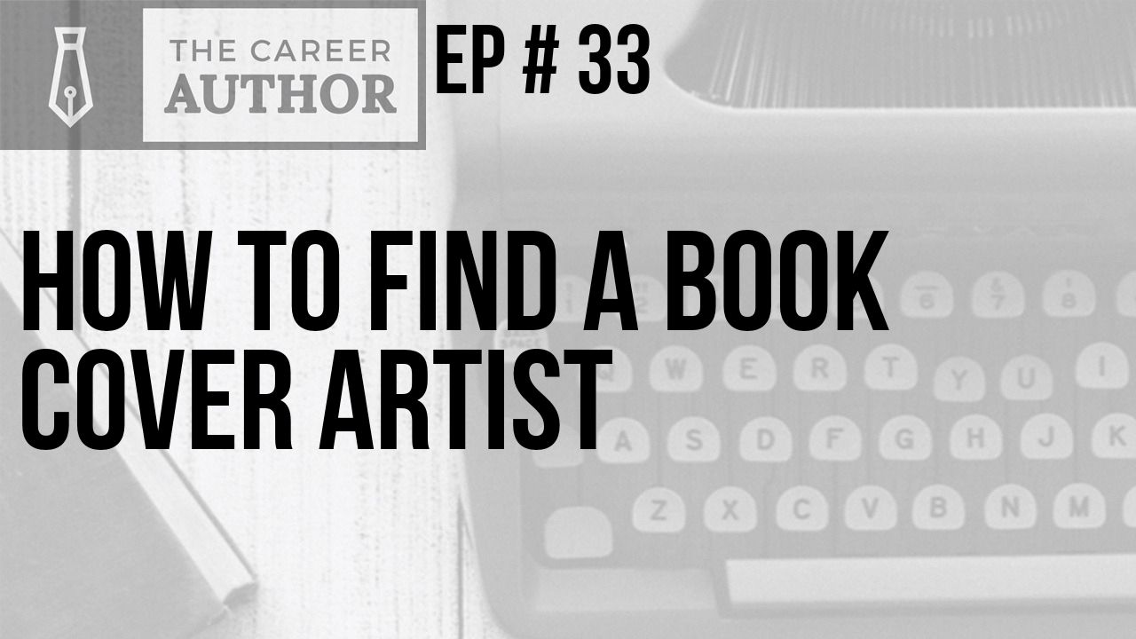 How to find a book cover artist