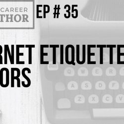 Internet etiquette for authors
