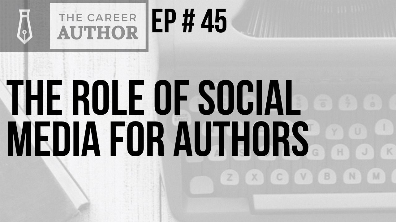 The role of social media for authors