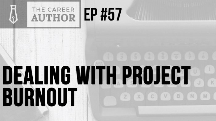 Dealing with project burnout