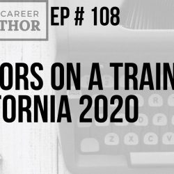 Authors on a Train California 2020