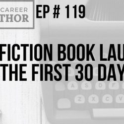 A Nonfiction Book Launch Wide: The First 30 Days