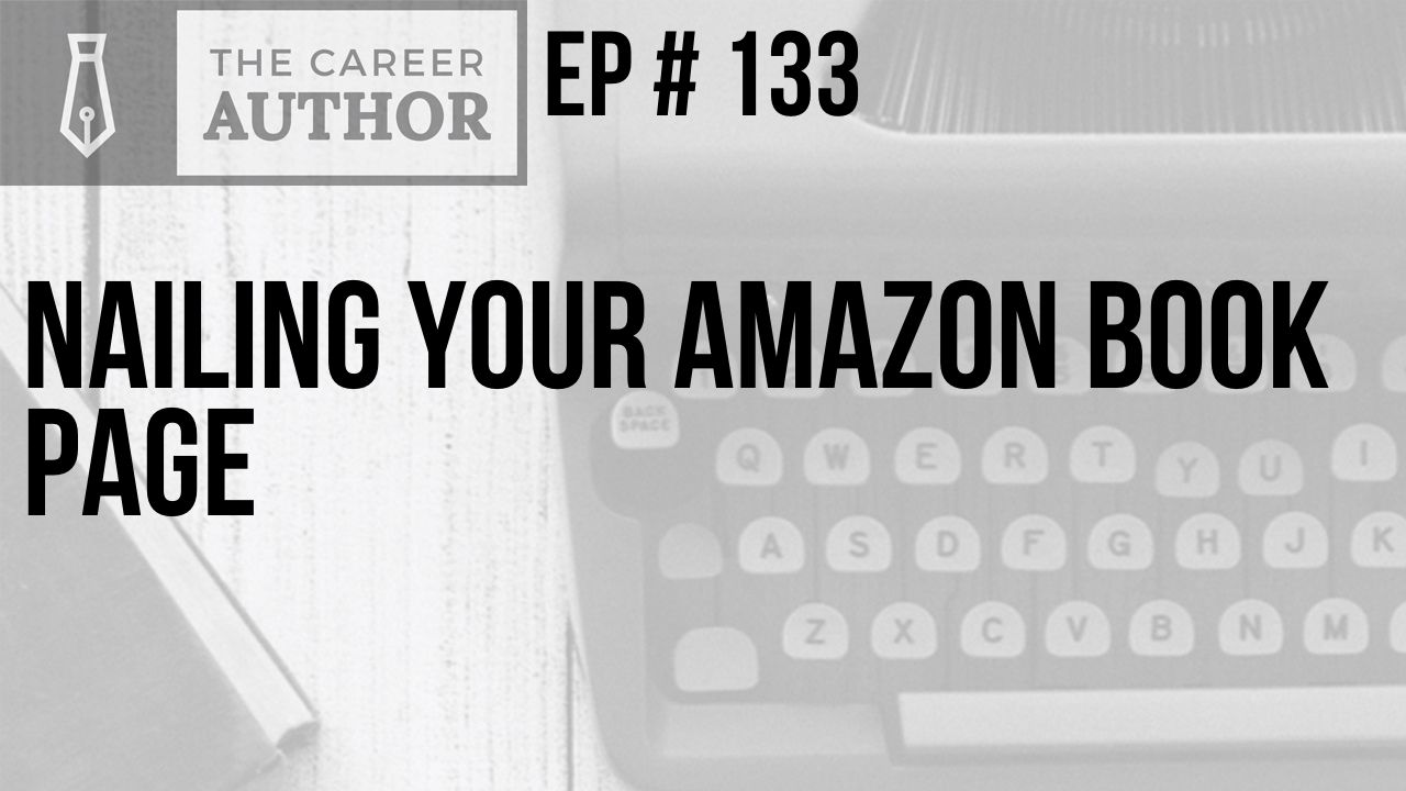 Nailing Your Amazon Book Page